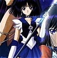 Sailor Saturn Cosplay Costume from Sailor Senshi