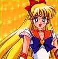 Sailor Venus Cosplay Wig from Sailor Senshi