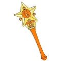Sailor Venus Star Wand from Sailor Moon