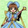 Sakura Cosplay (Bule Dress) from Cardcaptor Sakura
