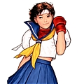 Sakura Cosplay Da Street Fighter