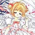 Sakura Costume (White) from Cardcaptor Sakura