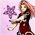 Sakura Haruno Cosplay Costume from Naruto