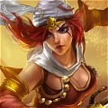 Sandstorm Katarina Costume von League of Legends