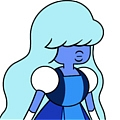 Sapphire Cosplay from Steven Universe