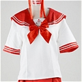 School Girl Uniform (Akiha, Red)