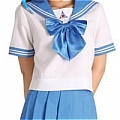 School Girl Uniform (Akiha,Blue)