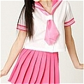 School Girl Uniform (Sailor,Pink)
