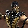 Scorpion Cosplay von Mortal Kombat