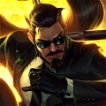 Secret Agent Xin Zhao Cosplay from League of Legends