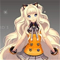 SeeU Cosplay from Vocaloid 3