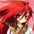 Shana Cosplay Wig from Shana of Blazing Eyes