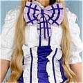 Sheryl Cosplay (Twins Purple Dress Customize) from Macross Frontier