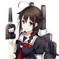 Shigure Cosplay von Kantai Collection
