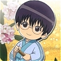 Shinpachi Shimura Cosplay Costume from Gin Tama