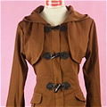 Shion Coat (Brown) from No 6