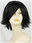 Short Spike Black Costume Hair Wig (Hunter)