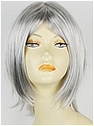 Silver Grey Spike Short Costume Hair Wig (Austin)