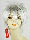 Silver White Short Costume Wig (Jackson)
