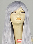 Silver Wig (Long,Straight,Pussia)