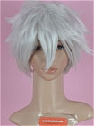 Silver Wig (Short,Spike,Killua)
