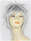 Silver Wig (Spike,Short,Gilbert)