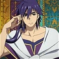 Sinbad Wig from Magi The Labyrinth of Magic