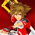 Sora Cosplay (Red) Desde Kingdom Hearts (serie)