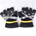 Sora Gloves (Black and Silver) from Kingdom Hearts