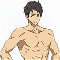 Sousuke Cosplay (Swimming Trunks) Desde Free