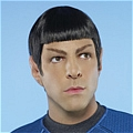 Spock Cosplay Desde Star Trek