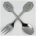 Spoon and Fork Da Black Butler