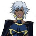 Storm Cosplay (Blue) from X men