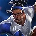 Striker Lucian Cosplay from League of Legends