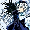 Suigintou Cosplay Wig from Rozen Maiden