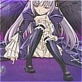 Suigintou Shoes (Dark Purple Flower) from Rozen Maiden