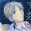 Takashi Natsume Cosplay Silver Wig from Natsume Yujincho