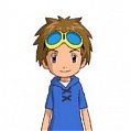 Takato Cosplay De  Digimon Tamers