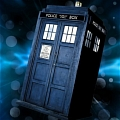 Tardis Cosplay (Blue Dress) Da Doctor Who