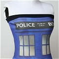 Tardis Cosplay (Police Box Dress) Desde Doctor Who