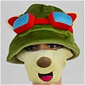 Teemo Hat and Mask from League of Legends