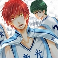 Teiko Middle Schools Basketball Team Uniform Da Kurokos Basketball