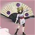 Temari Cosplay Fan from Naruto