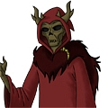 The Horned King Cosplay from The Black Cauldron