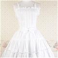 Lolita Dress (09030110-B White)