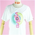 The Melancholy of Haruhi Suzumiya T Shirt (SOS,White 01) Da The Melancholy of Haruhi Suzumiya