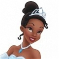 Tiana Wig Desde The Princess and the Frog