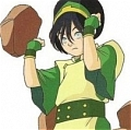 Toph Cosplay from Avatar the Last Airbender