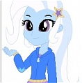 Trixie Lulamoon Cosplay from Equestria Girls