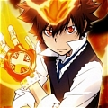Tsuna Cosplay from Reborn